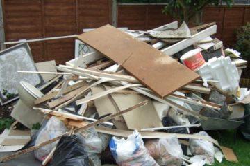 Ремонт дома. Строительный мусор