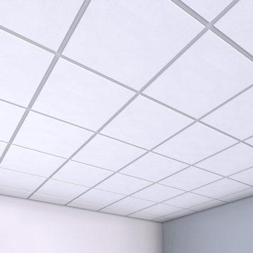 Современный потолок армстронг