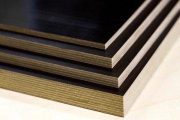 Фанера ламинированная представляет собой популярный материал